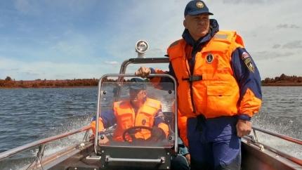 Сотрудники МЧС России обеспечат безопасность открытых соревнований по спортивной ловле рыбы спиннингом с лодки «Весенний хищник - 2016»