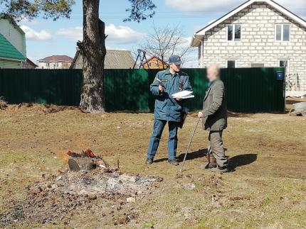 (07.04.19) Предупреждению палов сухой травы особое внимание