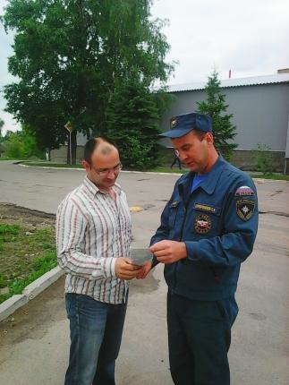 Активная профилактическая работа с населением в летний пожароопасный период
