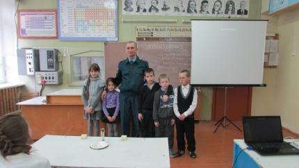 Открытый урок ОБЖ в Краснооктябрьской средней школе