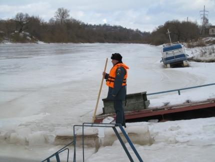 Предупреждению происшествий на водоемах – особое внимание (26.02.2017)