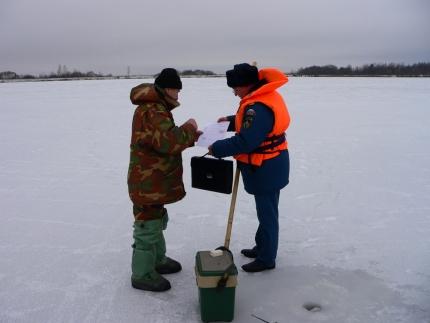 (0101.19) Любители зимней рыбалки не останутся без контроля со стороны инспекторов ГИМС