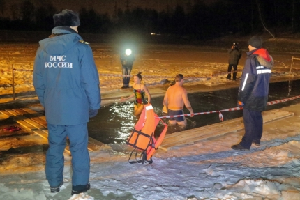 Крещенские купания прошли без происшествий (19.01.2017)