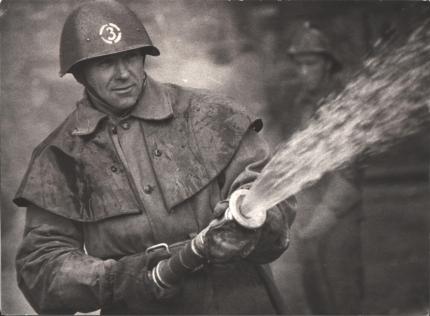 Год пожарной охраны: Егоров Юрий Корнеевич - ветеран войны и пожарной охраны