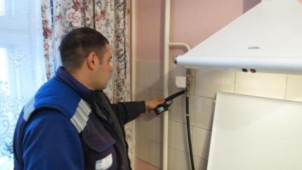 Проверки газового оборудования в жилых домах продолжаются (24.01.2017)