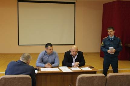 (05.10.19) В Кардымово состоялось заседание комиссии по предупреждению и ликвидации чрезвычайных ситуаций