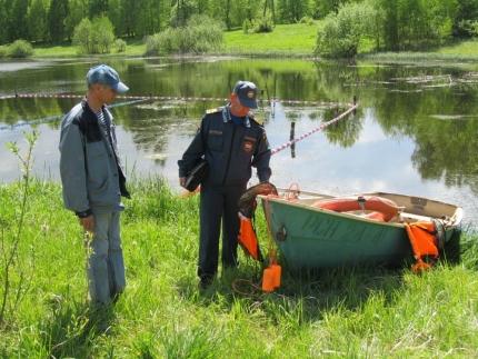 Водные объекты Смоленщины под пристальным внимание сотрудников ГИМС (30.05.2017)