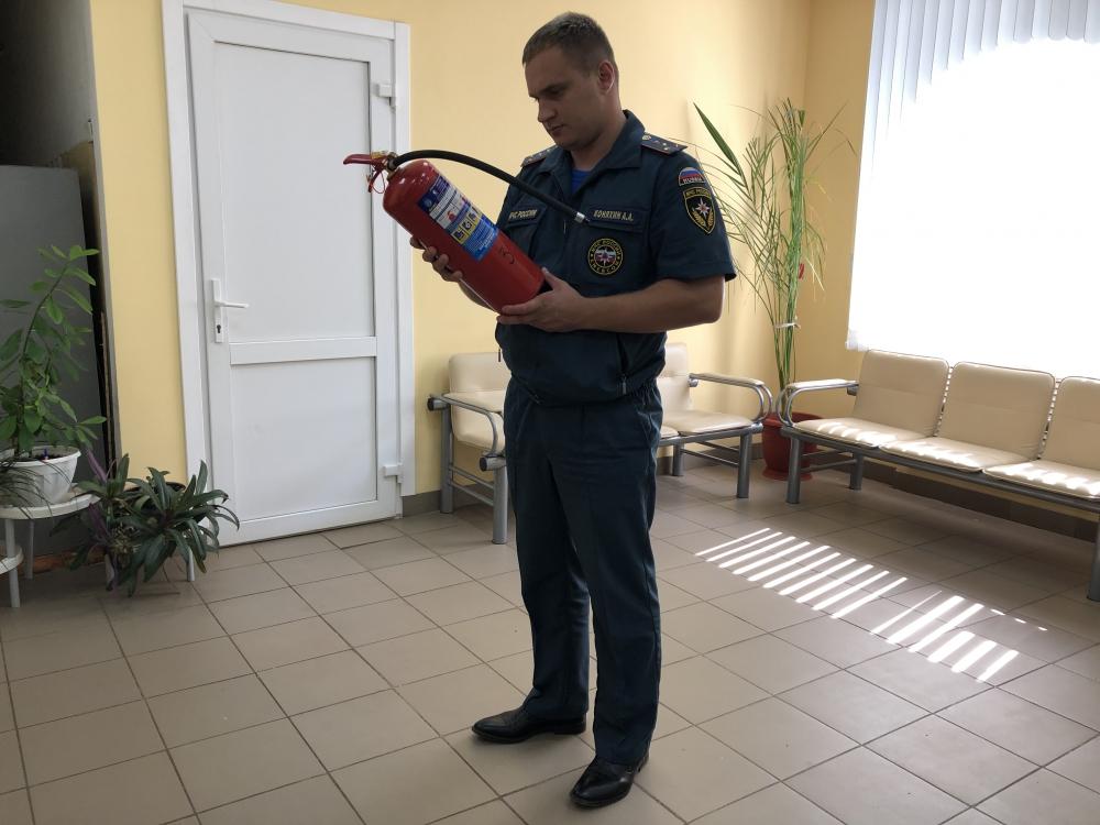 (28.08.19) Проверки соблюдения требований пожарной безопасности на избирательных участках