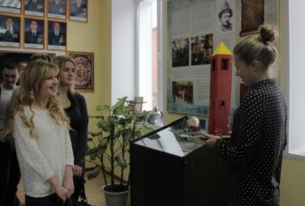 О пожарном деле студентам Смоленского государственного университета (13.01.2017)