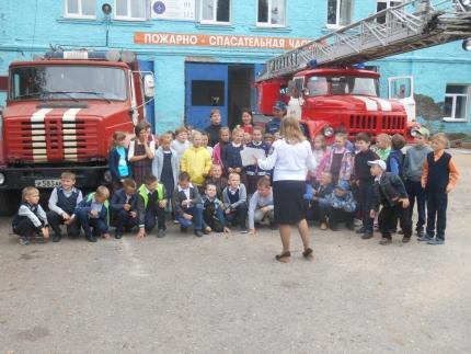 Уроки безопасности для школьников Рославльского района