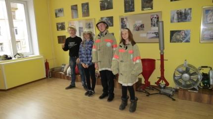 Юные пожарные посетили Центр противопожарной пропаганды