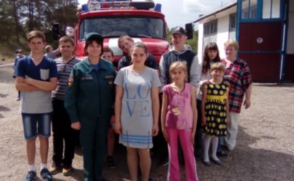 (16.06.2018) Знакомство с пожарным делом