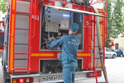 (08.08.2019) Пожарные тренируются