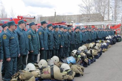 МЧС России проводит крупномасштабные учения (19.04.2017)