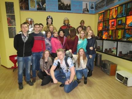 О профессии спасателя студентам Смоленского гуманитарного университета
