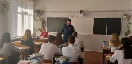 (02.09.19) Всероссийский открытый урок по «Основам безопасности жизнедеятельности» прошел в селе Глинка