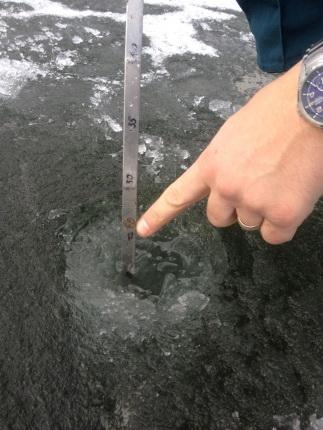 Специалисты ФКУ «Центр ГИМС МЧС России по Смоленской области» акцентируют внимание любителей подледного лова на влияние погодных условий на крепость ледяного покрова