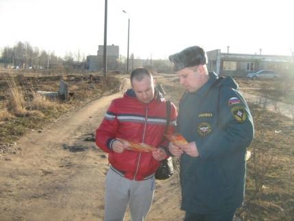 В Смоленской области проводится активная профилактическая работа по недопущению палов сухой травянистой растительности (12.04.2017)