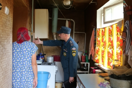 (16.07.2018) Многоквартирные дома под наблюдением госпожнадзора