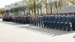 Подготовка к Параду Победы идет полным ходом (09.04.2018)
