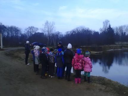 Детям о безопасности на берегу озера