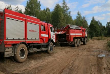 (29.07.2018) Работа, направленная на пресечение лесных пожаров