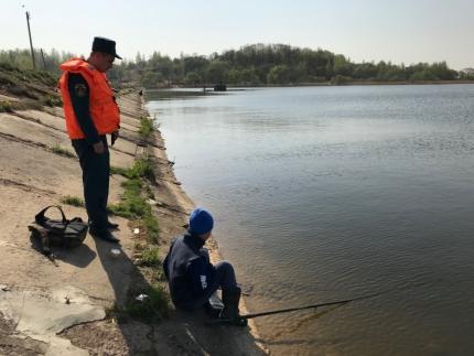 (14.05.19) Ежедневный контроль водоемов
