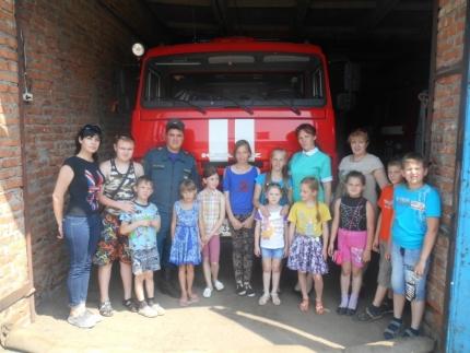 Работа с детьми в Год пожарной охраны