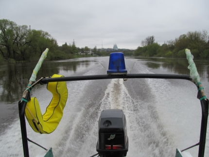 Водные объекты Смоленщины под пристальным внимание сотрудников ГИМС (15.05.2017)