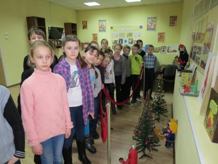 Центр противопожарной пропаганды города Смоленска приглашает всех желающих познакомиться с обновленной новогодней экспозицией