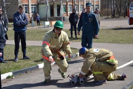 «Школа безопасности» в Рославльском районе