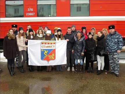«Студенческая инспекция» на пожарном поезде