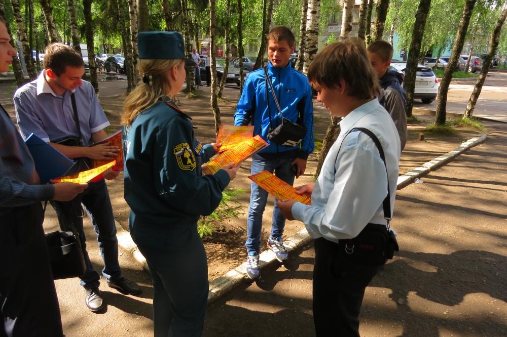 Профилактика пожаров в преддверии отопительного периода (8.09.2017)