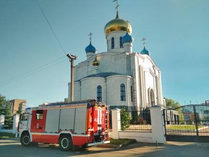 (19.06.19) Обеспечение пожарной безопасности прихожан