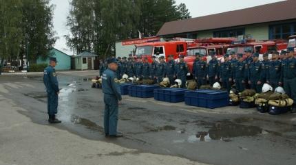 Главное управление МЧС России по Смоленской области принимает участие в комплексной тренировке
