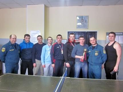 В Гагарине прошел товарищеский турнир по настольному теннису, приуроченный к Дню защитника Отечества