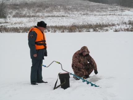 (10.01.19) Основная цель - предотвратить несчастные случаи на зимних водоёмах