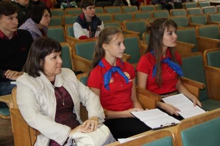 В Смоленске состоялся первый слет командиров школьных Дружин Юных Пожарных