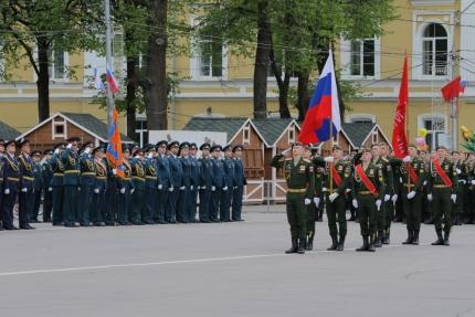 (06.05.2018) Генеральная репетиция Парада Победы в Смоленске