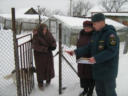 Пожарная безопасность жителей Смоленской области под пристальным вниманием сотрудников МЧС России