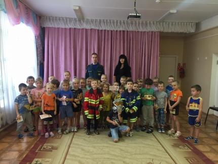 (12.10.19) О безопасности воспитанникам детских садов города Рославля