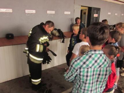 День открытых дверей в 21 пожарно-спасательной части