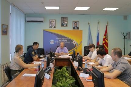 В Главном управлении МЧС России по Смоленской области состоялось очередное заседание Общественного совета