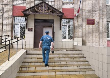 (23.07.2019) Эвакуация Ярцевского городского суда