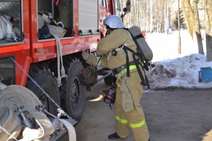 В центральной библиотеке города Десногорска прошла плановая противопожарная тренировка (22.01.2017)