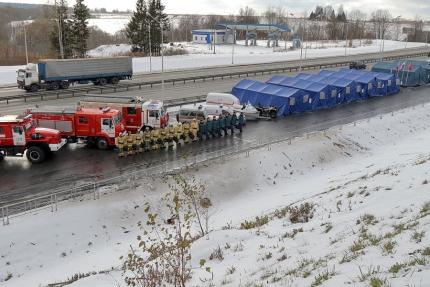 Автомобильные дороги Смоленщины находятся под наблюдением спасательных служб