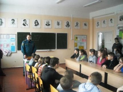 «Урок безопасности» в Третьяковской основной общеобразовательной школе