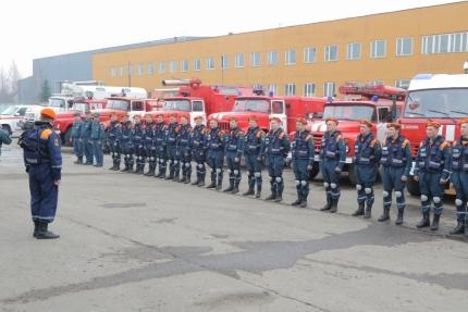 В МЧС России подвели итоги первого этапа командно-штабного учения (17.04.2018)