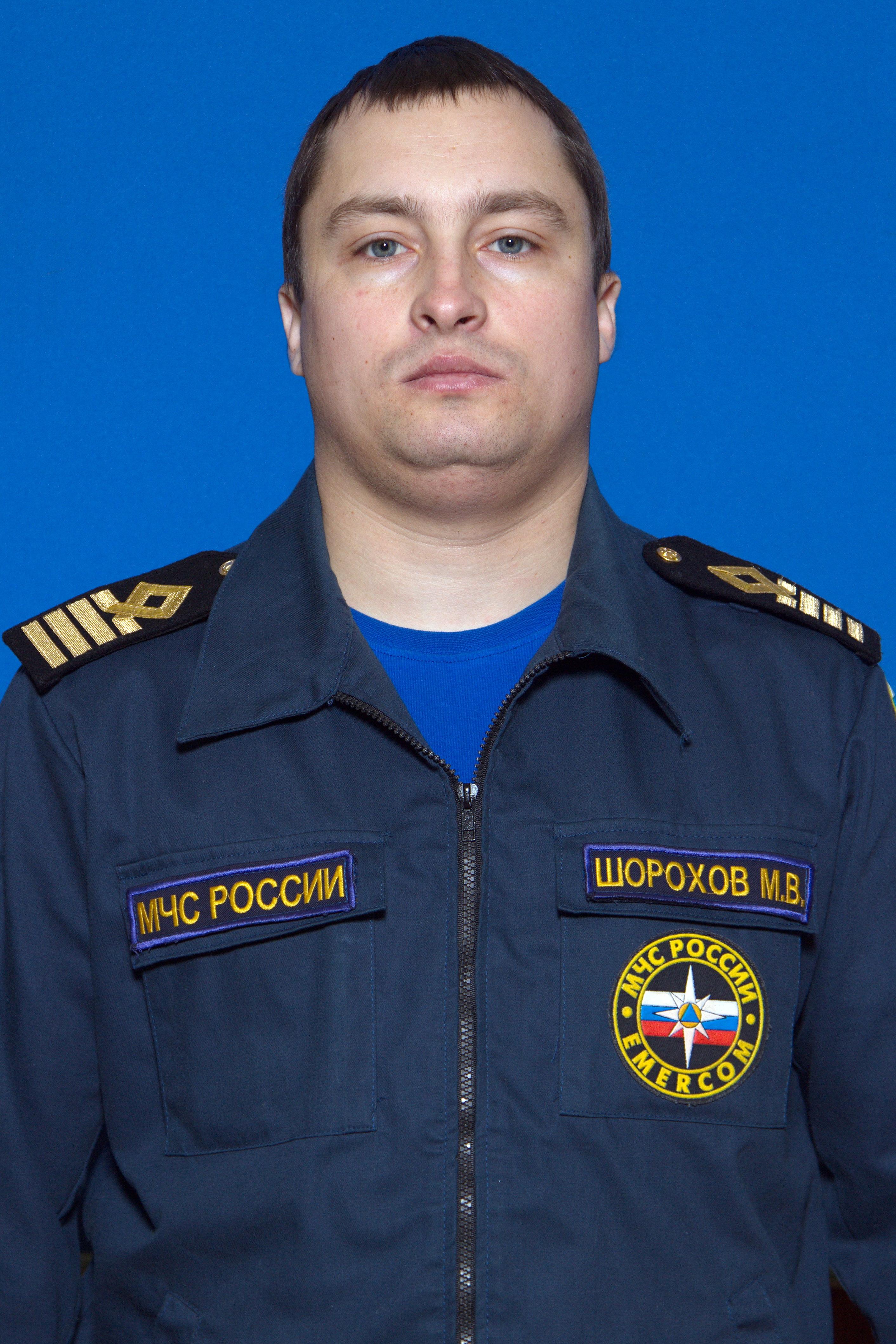 Лучший государственный инспектор по маломерным судам Максим Шорохов