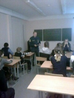 «Месячник Гражданской обороны» в Хиславичской средней школе